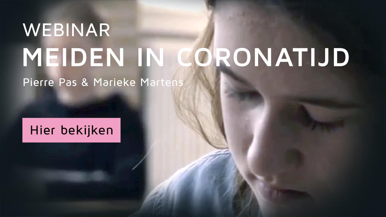 webinar meiden in coronatijd